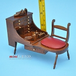Quality Cobblers Shoemaker Bench Dollhouse Miniature 1:12 V4012-WM